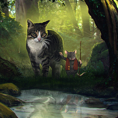 Maurice mosqua cat