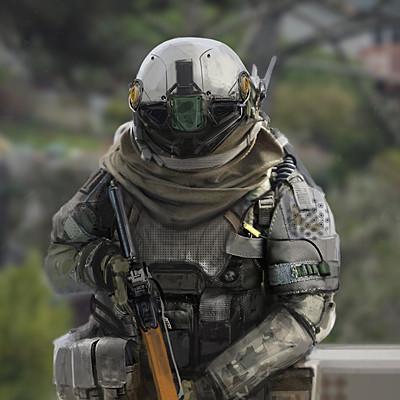 Alex bobylev soldier photobash