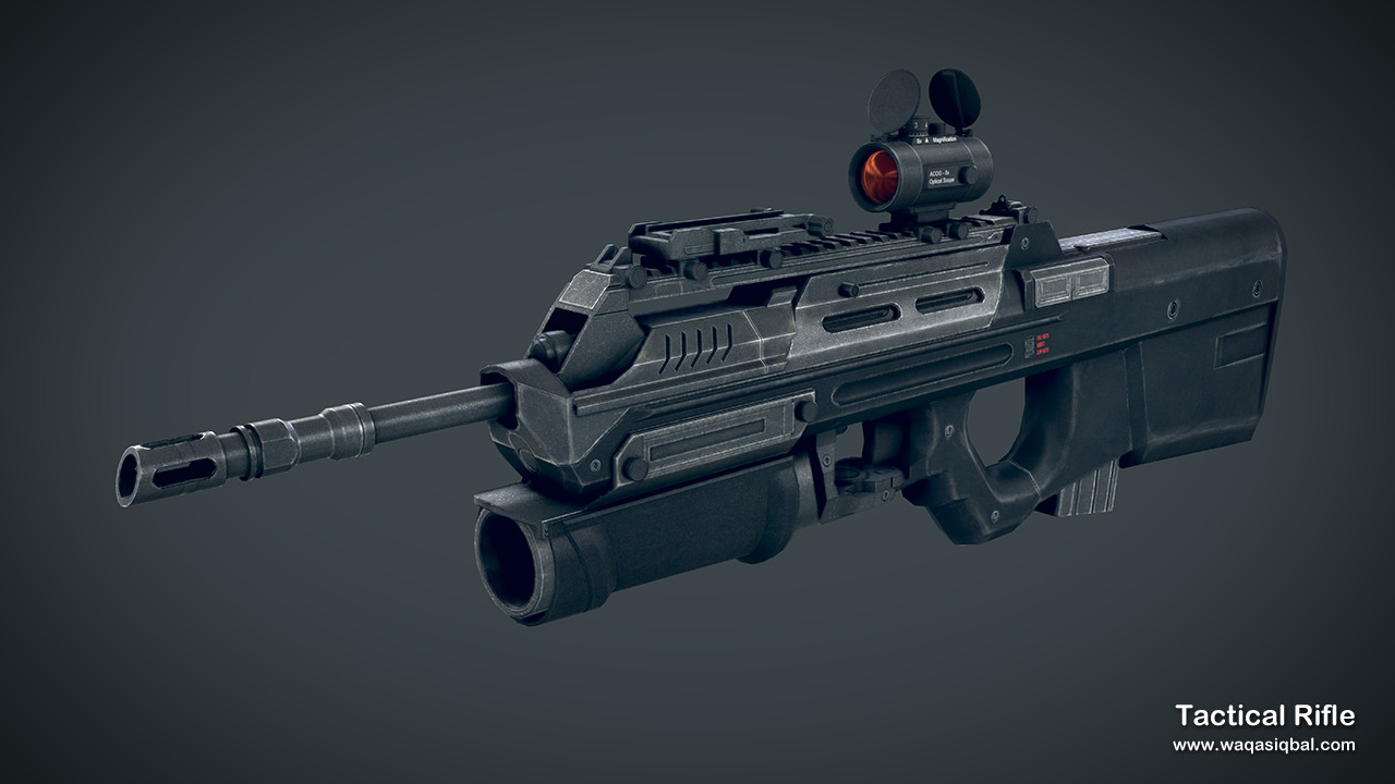 Waqas iqbal item tacticalrifle render 1