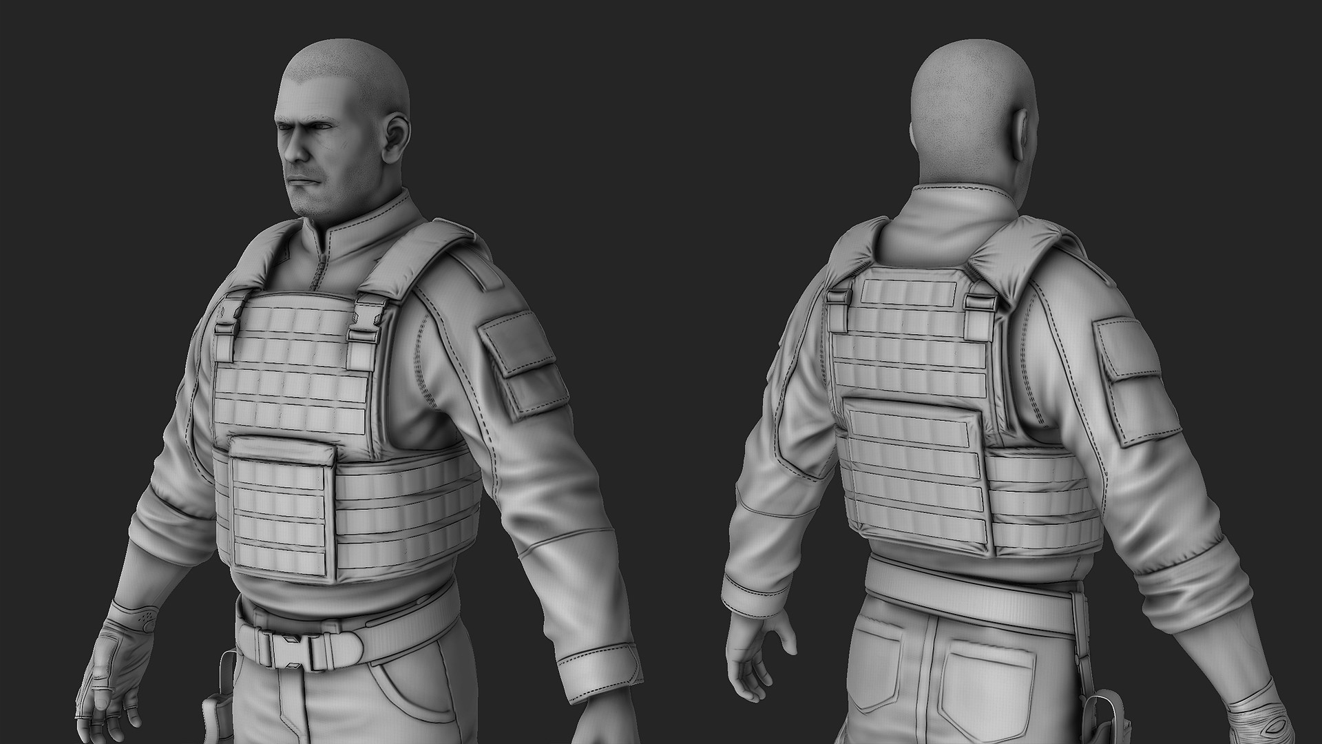Waqas iqbal soldier highres wip 03