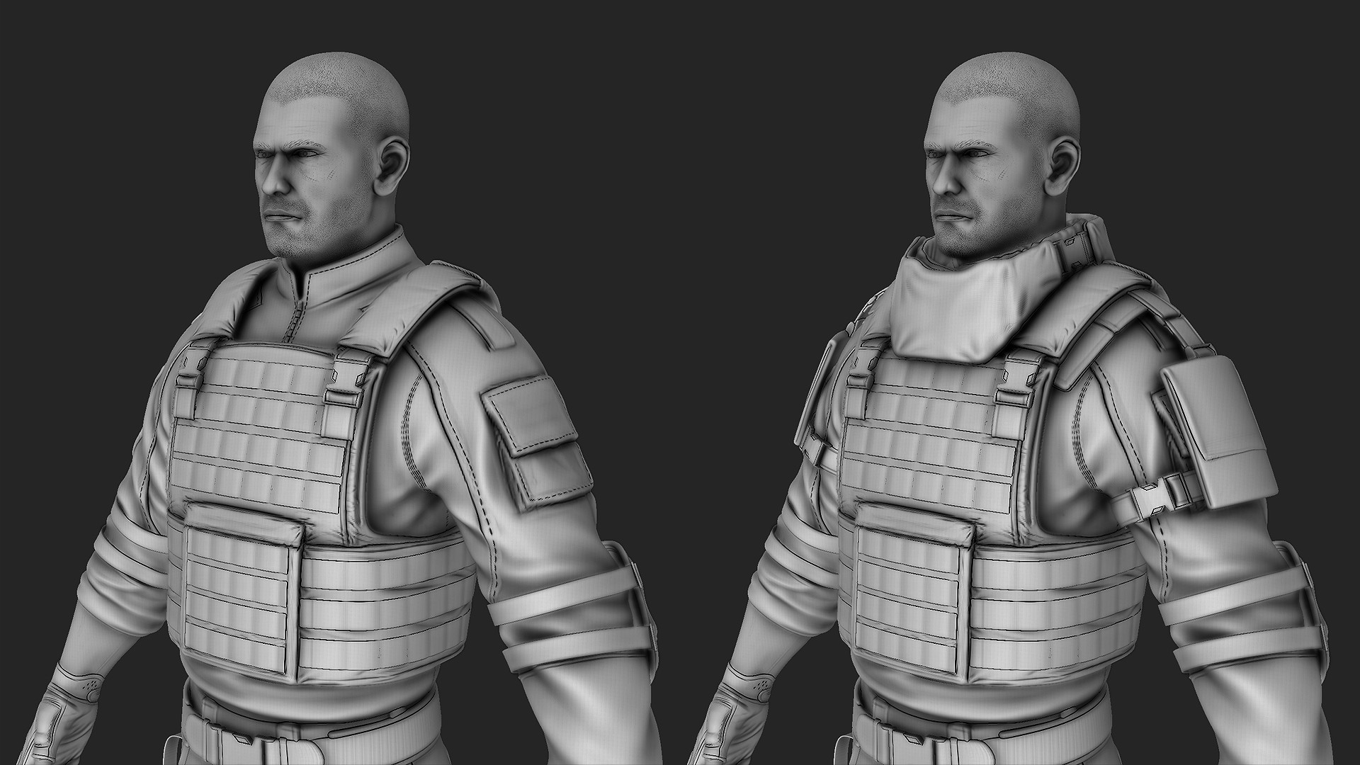 Waqas iqbal soldier highres wip 05