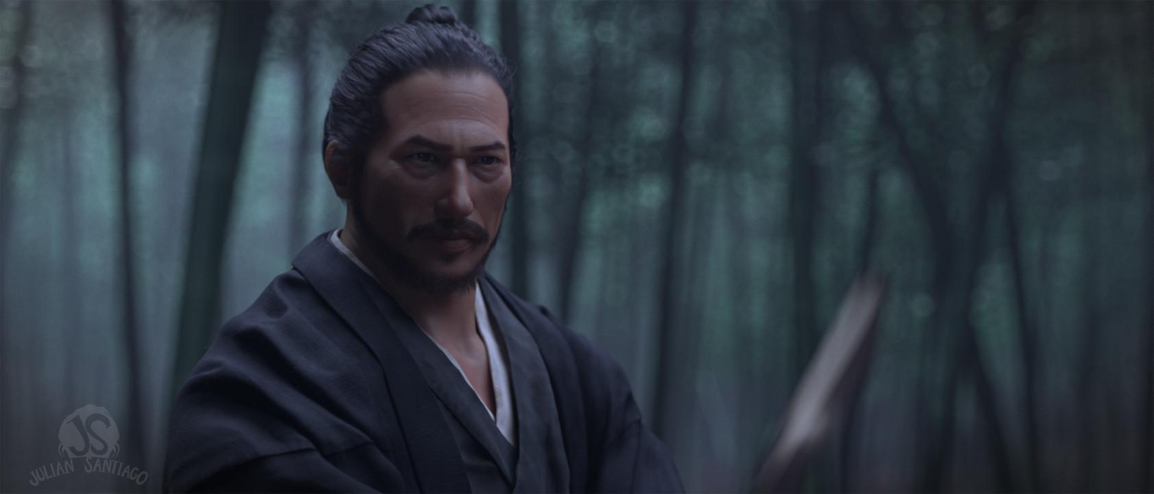 Julian santiago juliansantiago samurai dark