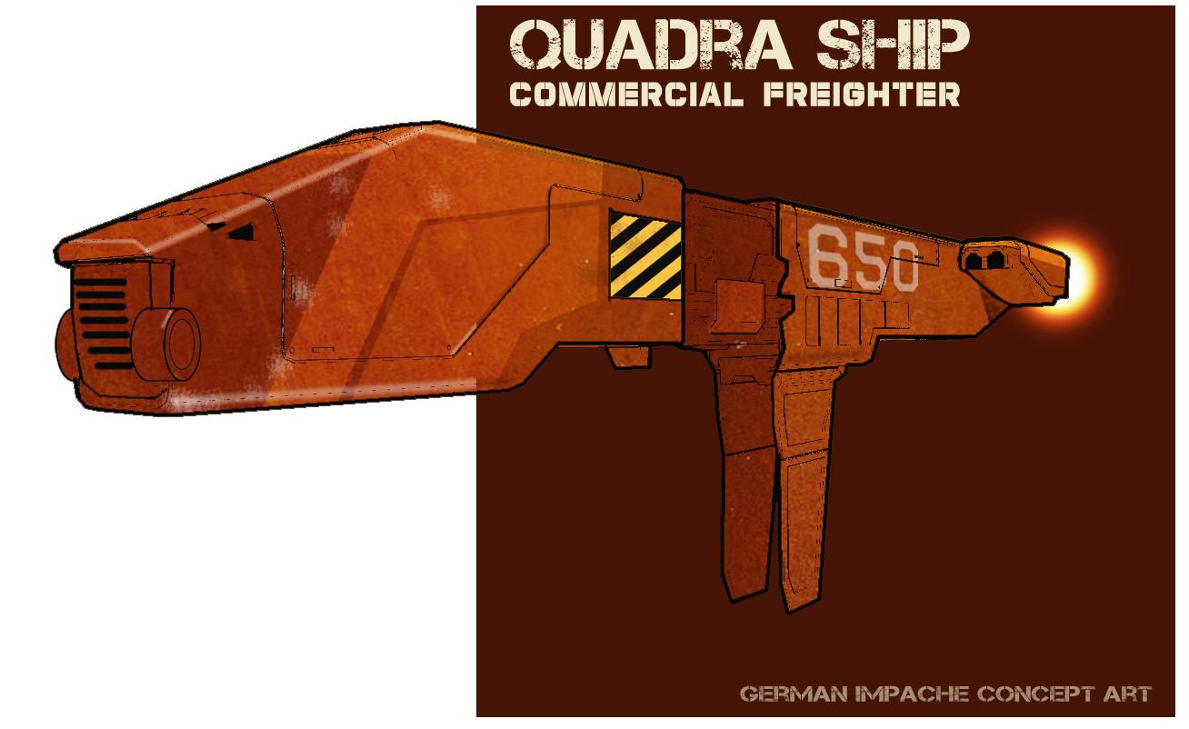 German impache quadra artcover 3