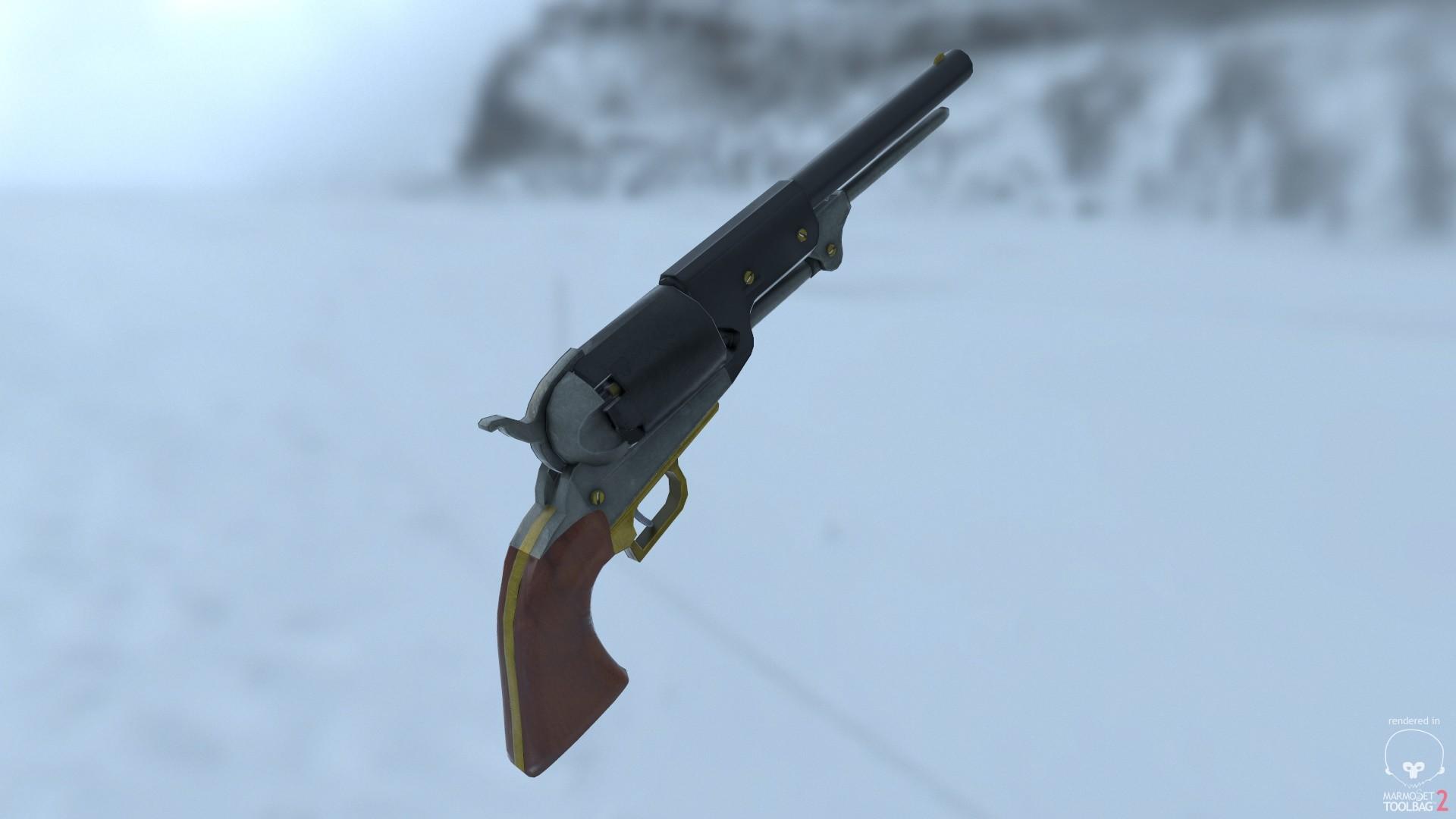 Michael Hall - 1847 Colt Revolver