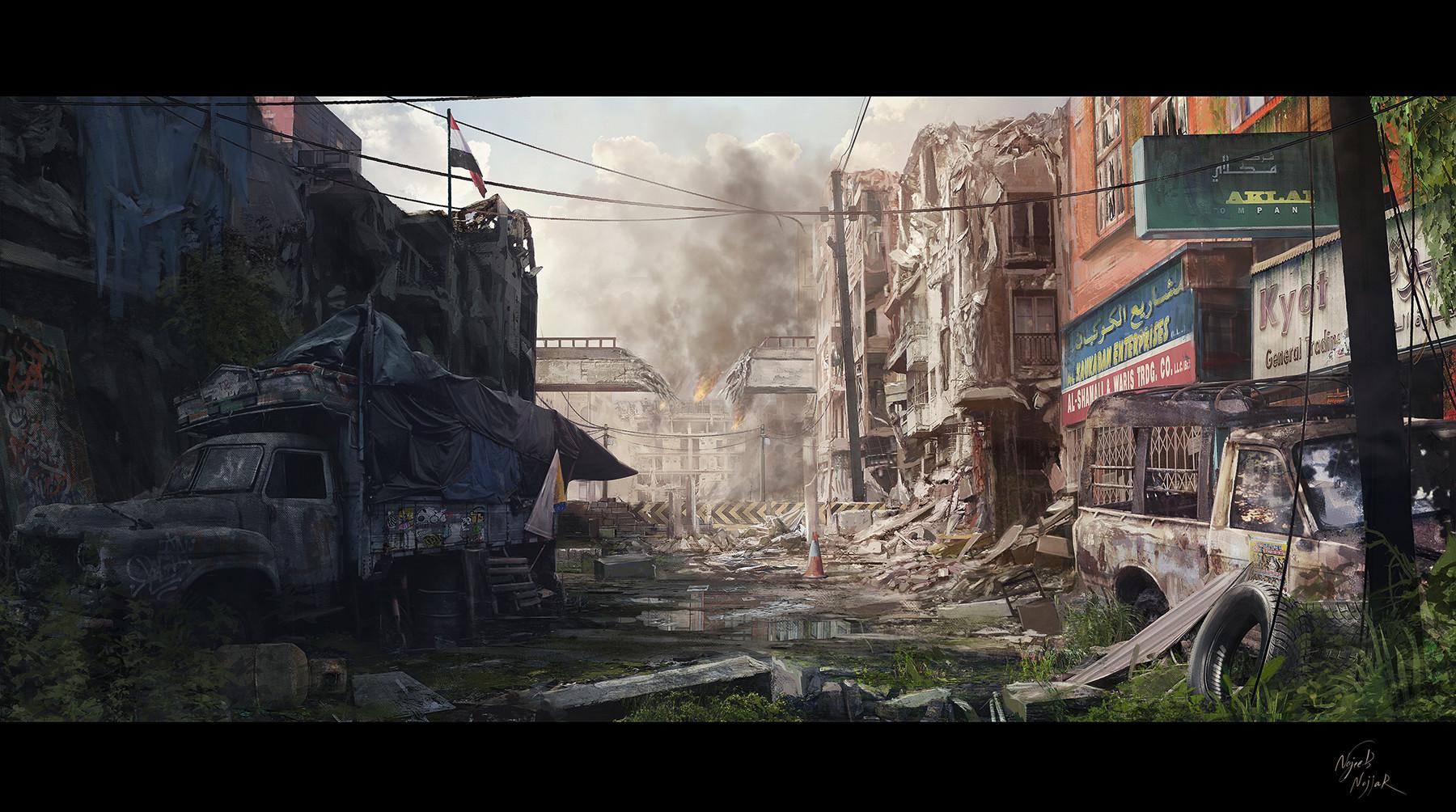 Najeeb najjar war