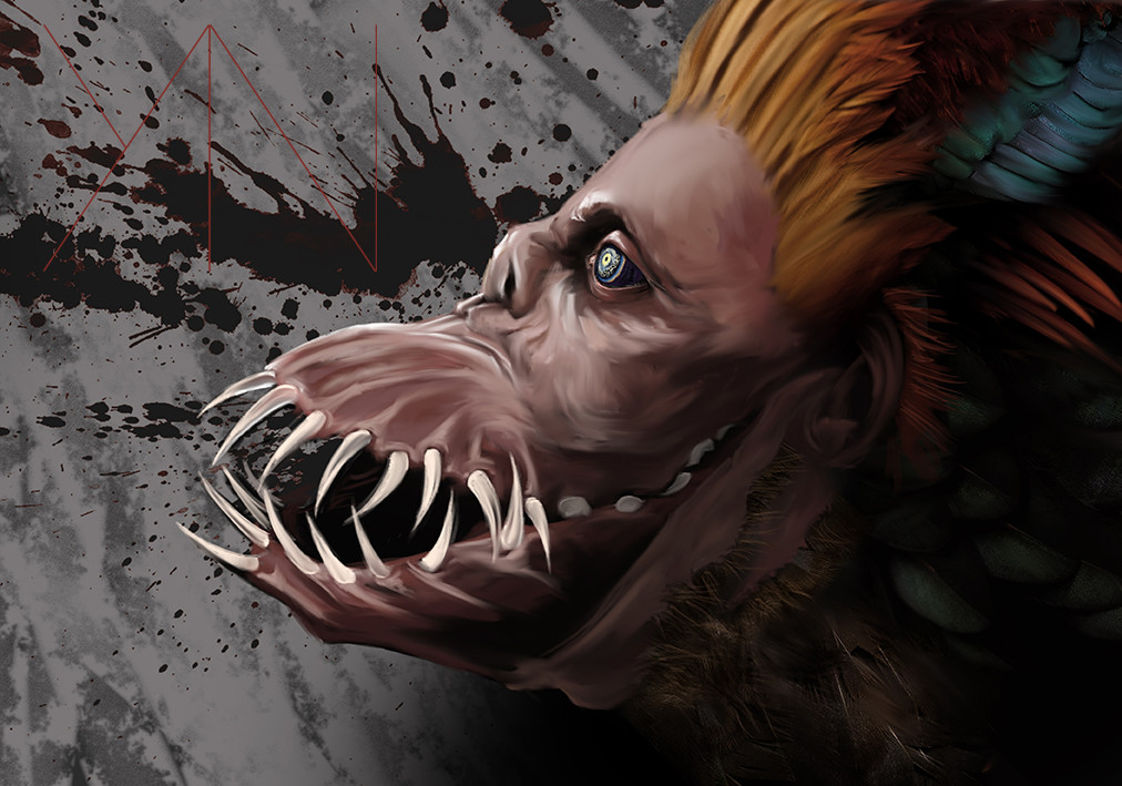 Yun nam goblinshark mouth