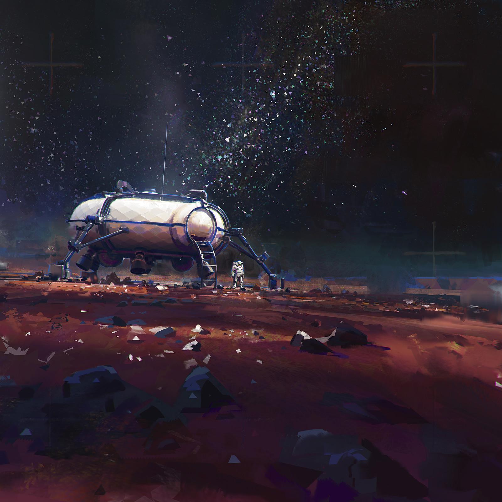 Astroneer, Habitat