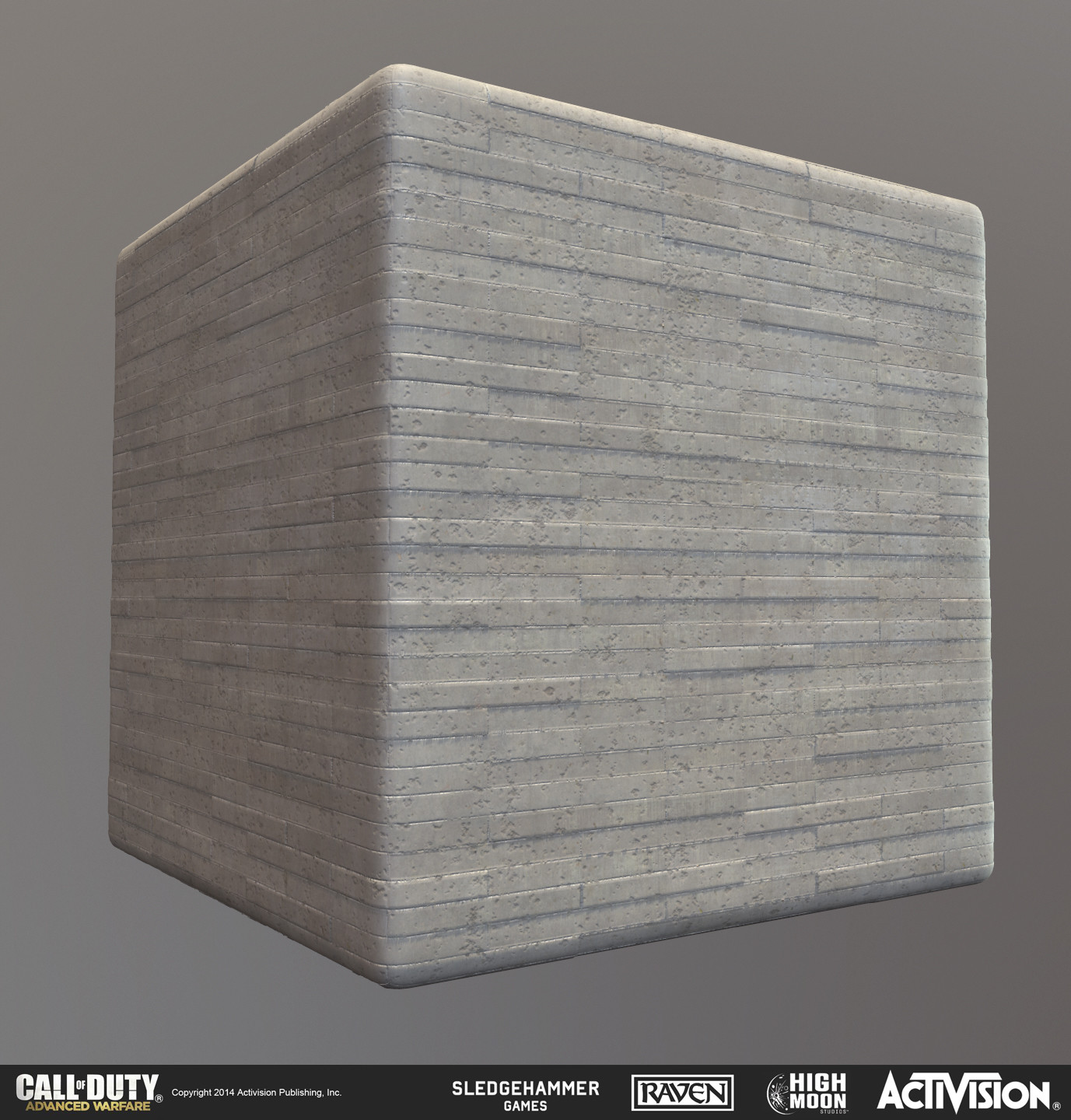 Tiling extruded concrete wall