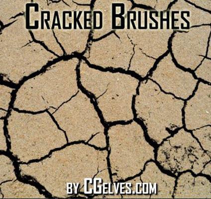 cracked ground effect photoshop