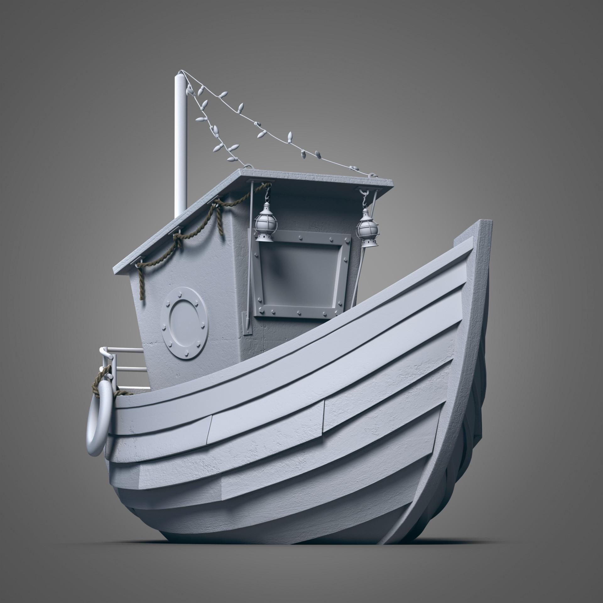 Silvia cortellino boat model