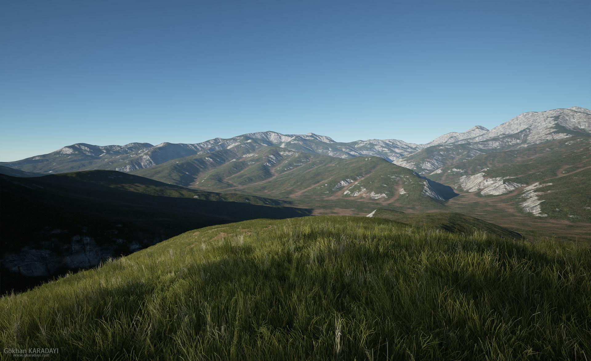 ArtStation - PhotoRealistic Mountain - B (UE4), Gökhan Karadayı