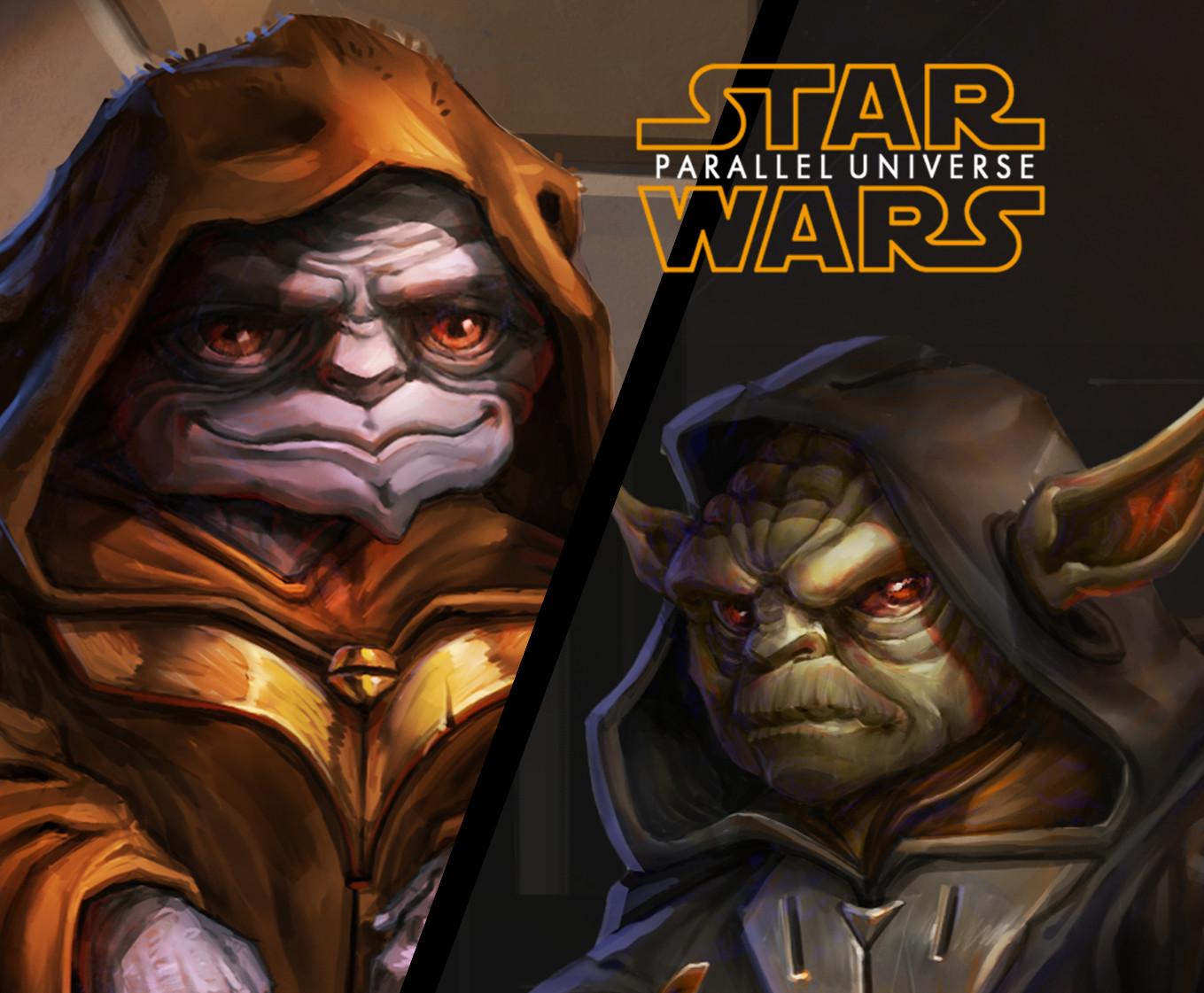ArtStation - Star Wars Parallel Universe, Tomi Dzurovski