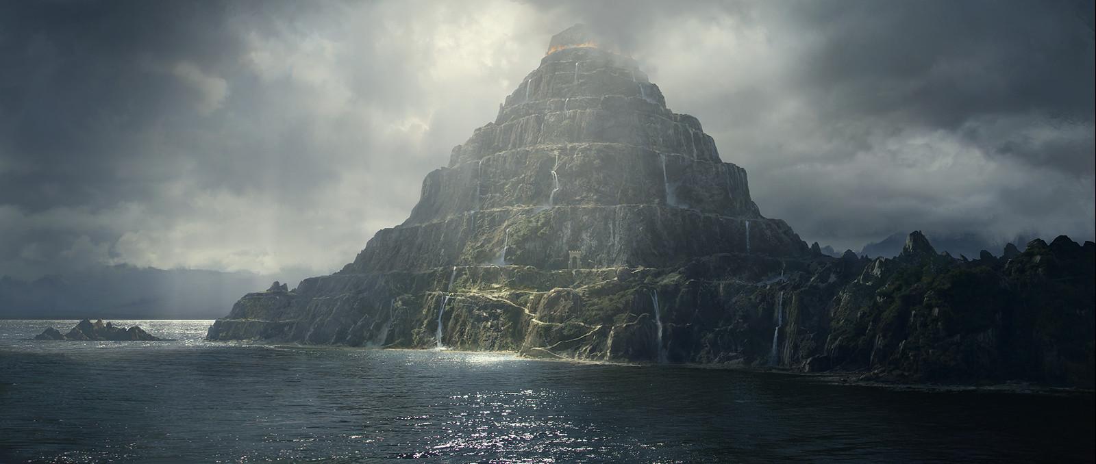 Mt Purgatory, Dantes Inferno
