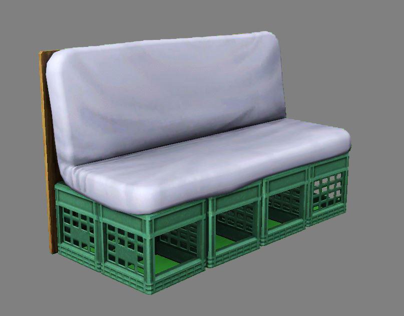 Dorm Futon Couch