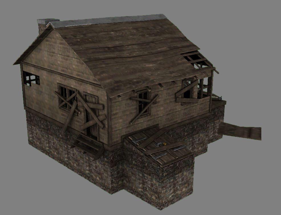 Abandoned Cabin 03