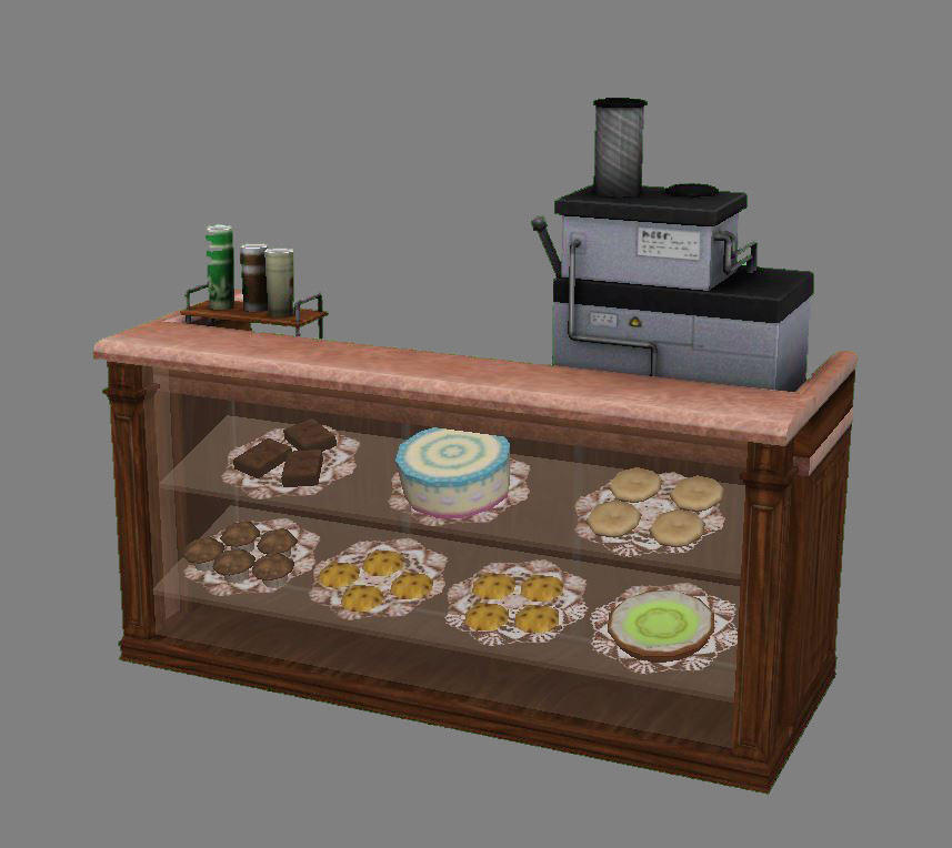 Barista Station Front