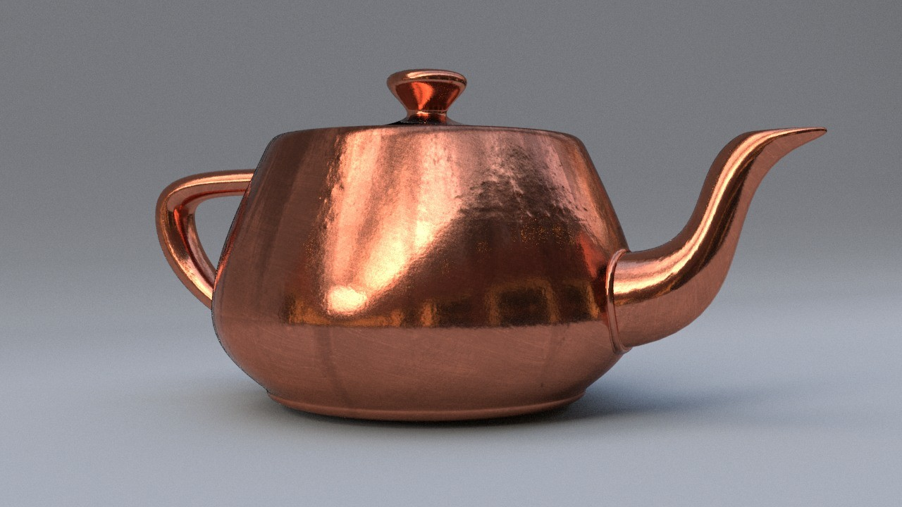 Realistic Copper by Hugo Matilde