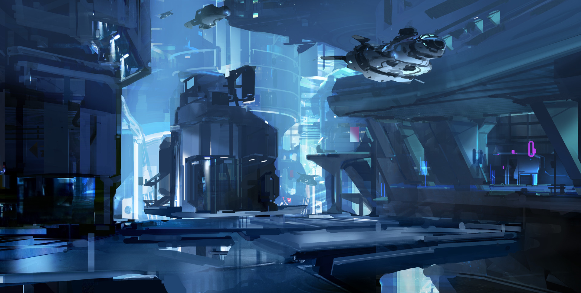 Sparth halo5 city concept