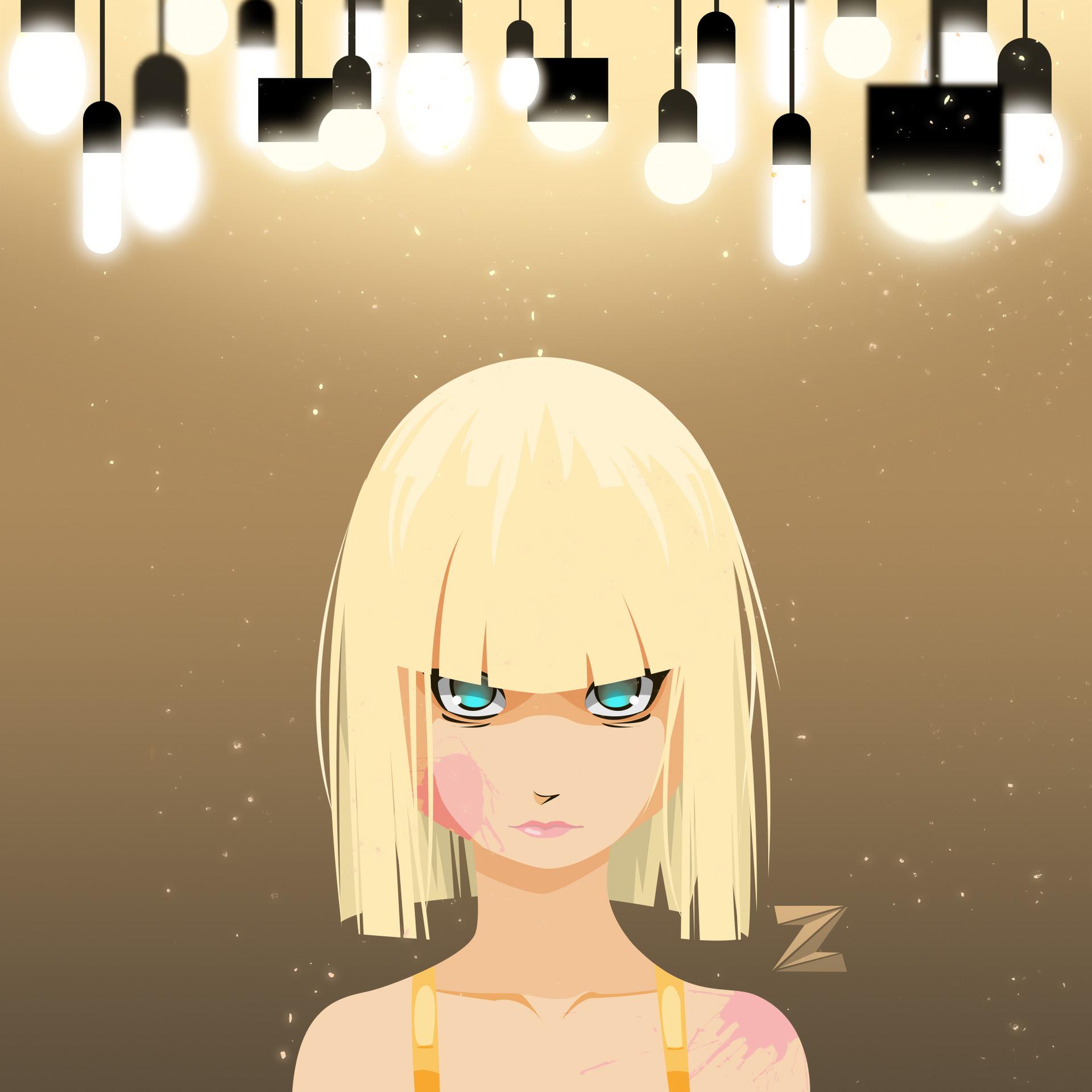 Moutaz k maudy chandelier squared