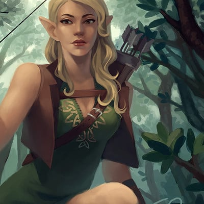 Ester zejn elf tree3
