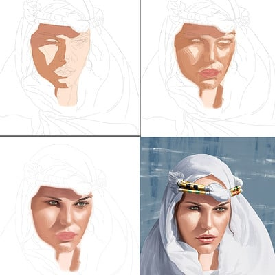 Emrullah cita desert princess step by step