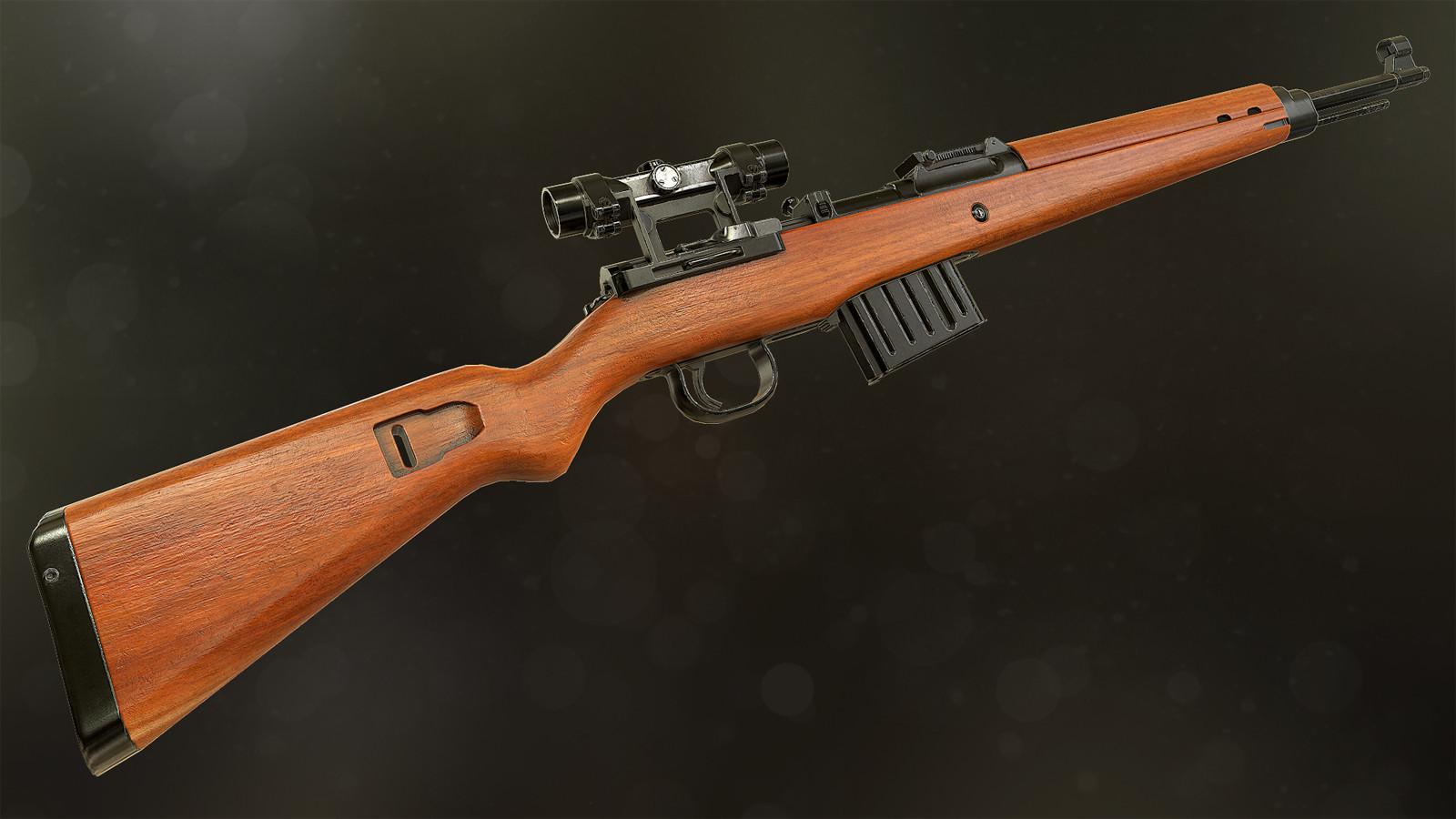 Sebastian Fijał Gewehr 43 Sniper Rifle