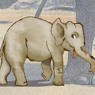 Becs teall baby elephant1 2