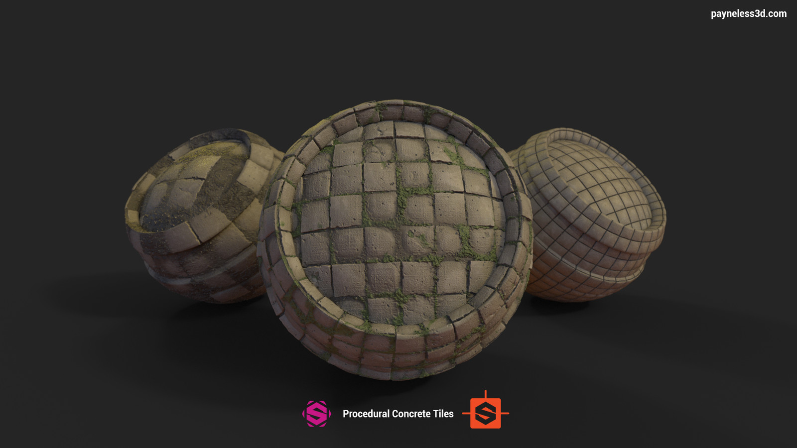 Concrete Tiles || Substance Designer