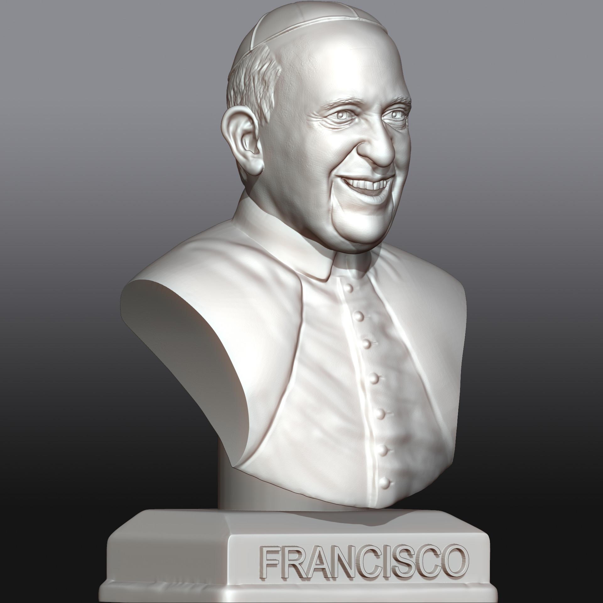 Tomislav veg pope francis 3quarter