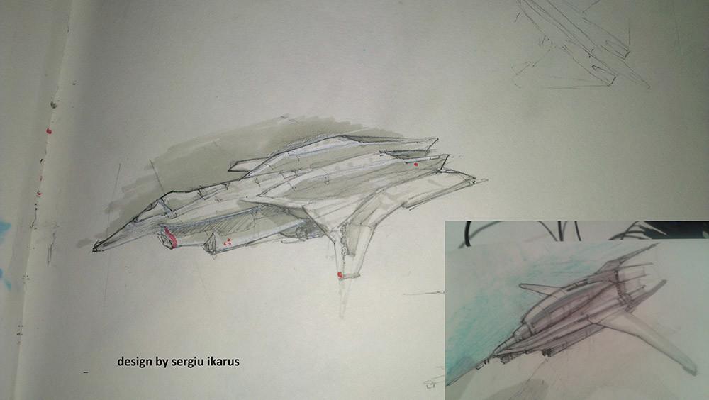 Alex jay brady ikarus sketches