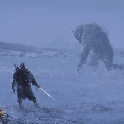 Jakub rozalski nightwolf