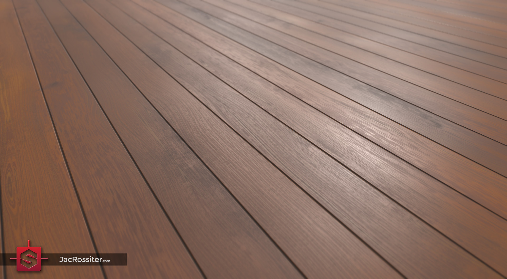 Procedural Wood Panel Flooring