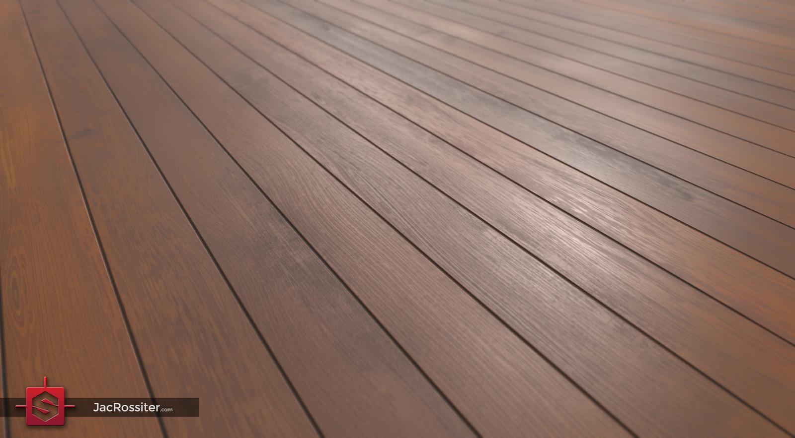 Procedural Wood Panel Flooring