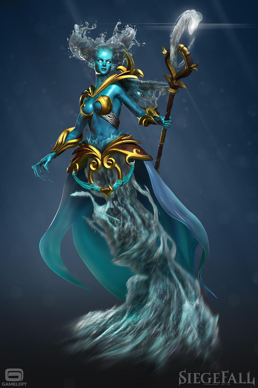 Siegefall - Water Elemental