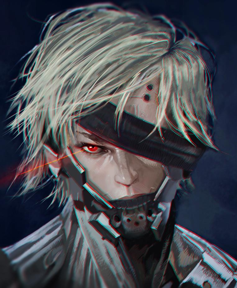 Dzikawa 39K Subscribers Subscribe Raiden From Metal Gear Rising Revengeance Speedpaint