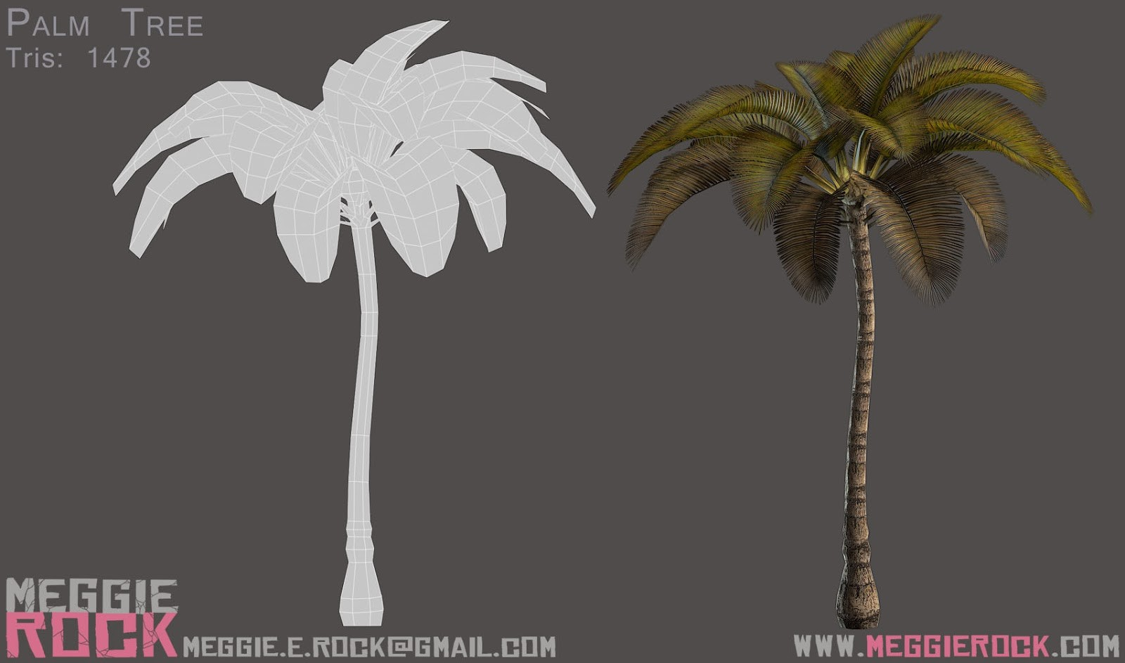 Meggie rock palm preview