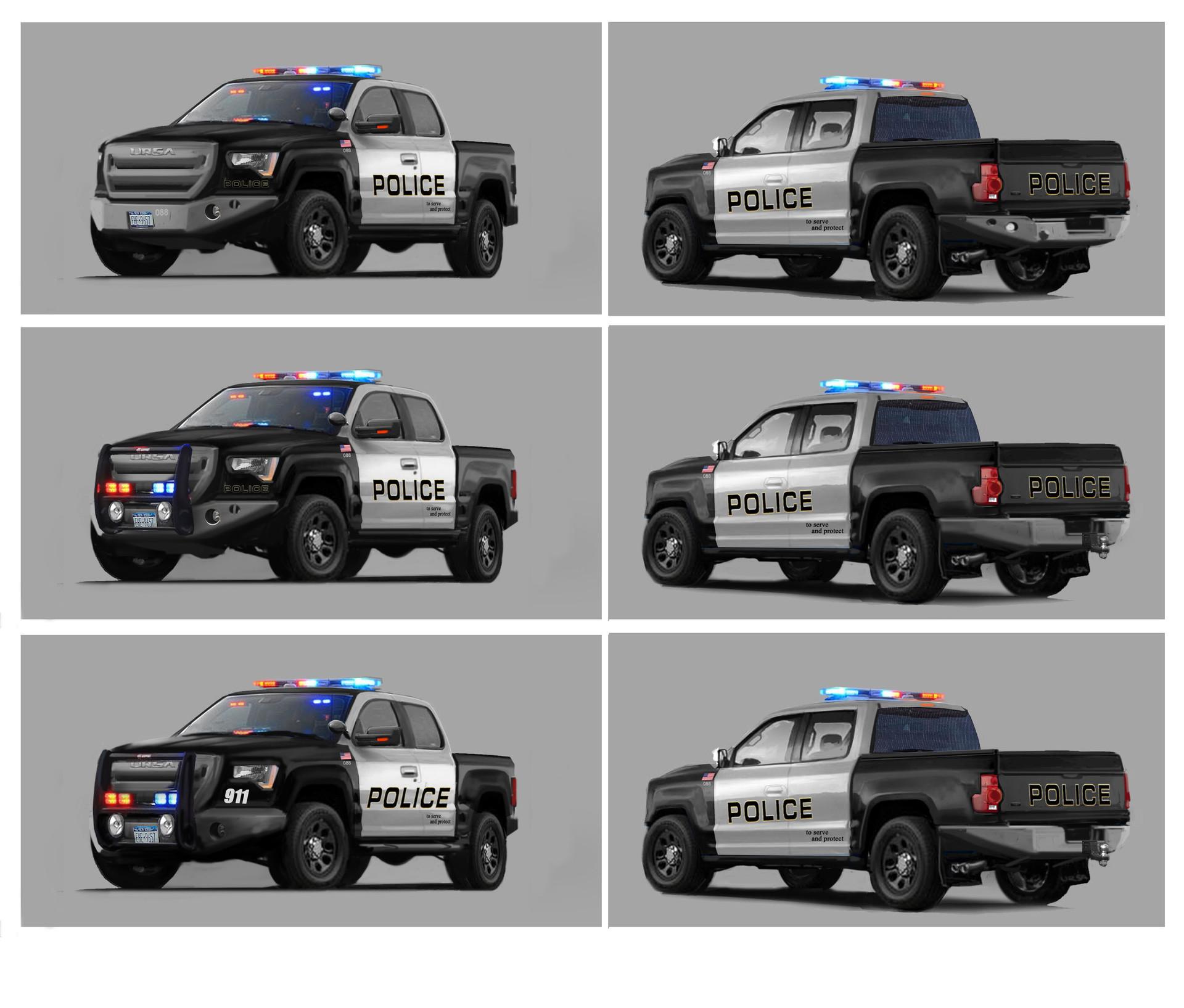 Alex jay brady police4 truck mods