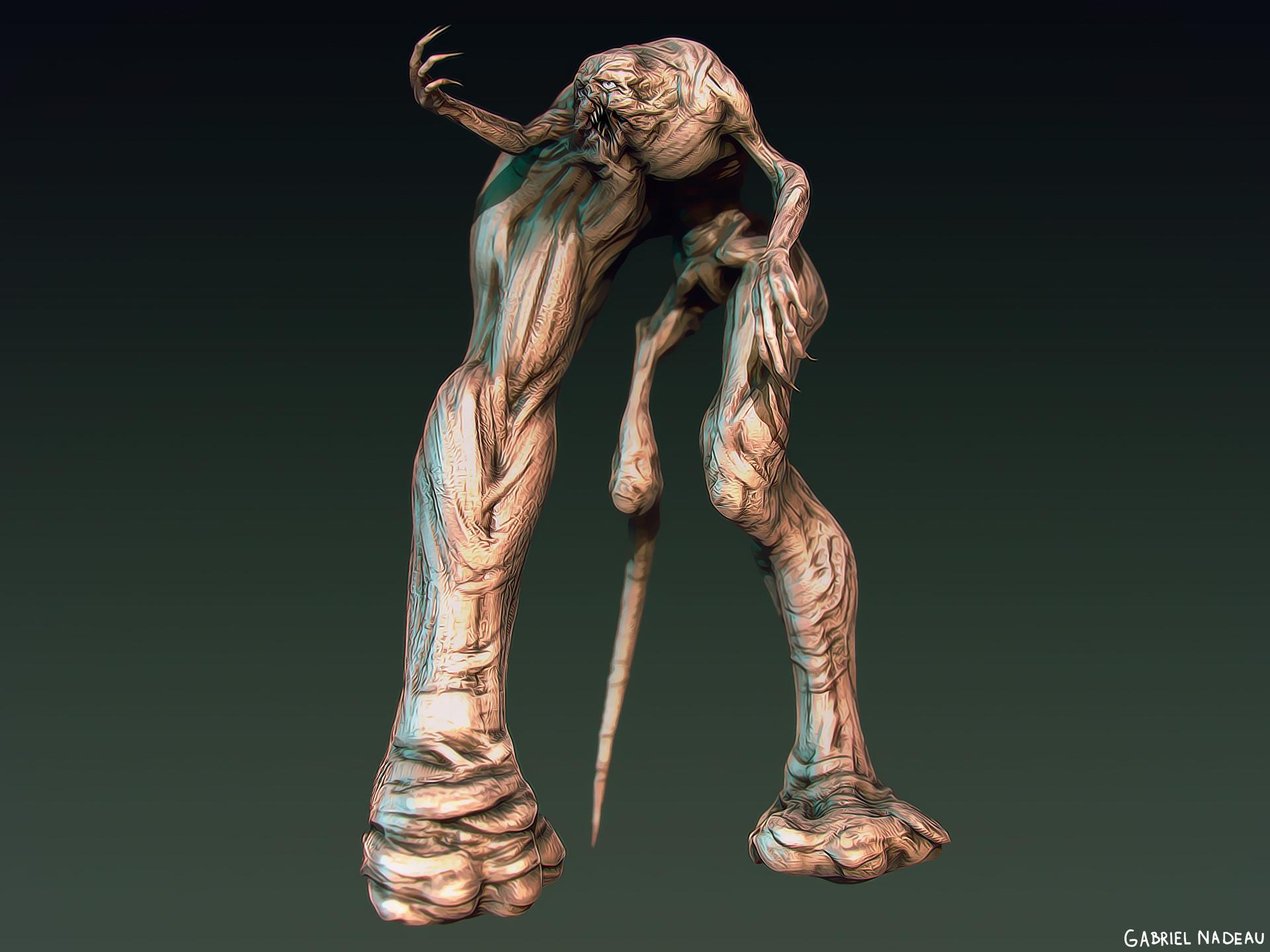Gabriel nadeau monstre 2
