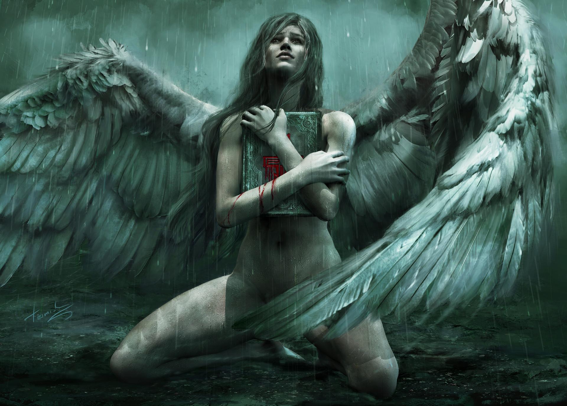Падший ангел девушка фото