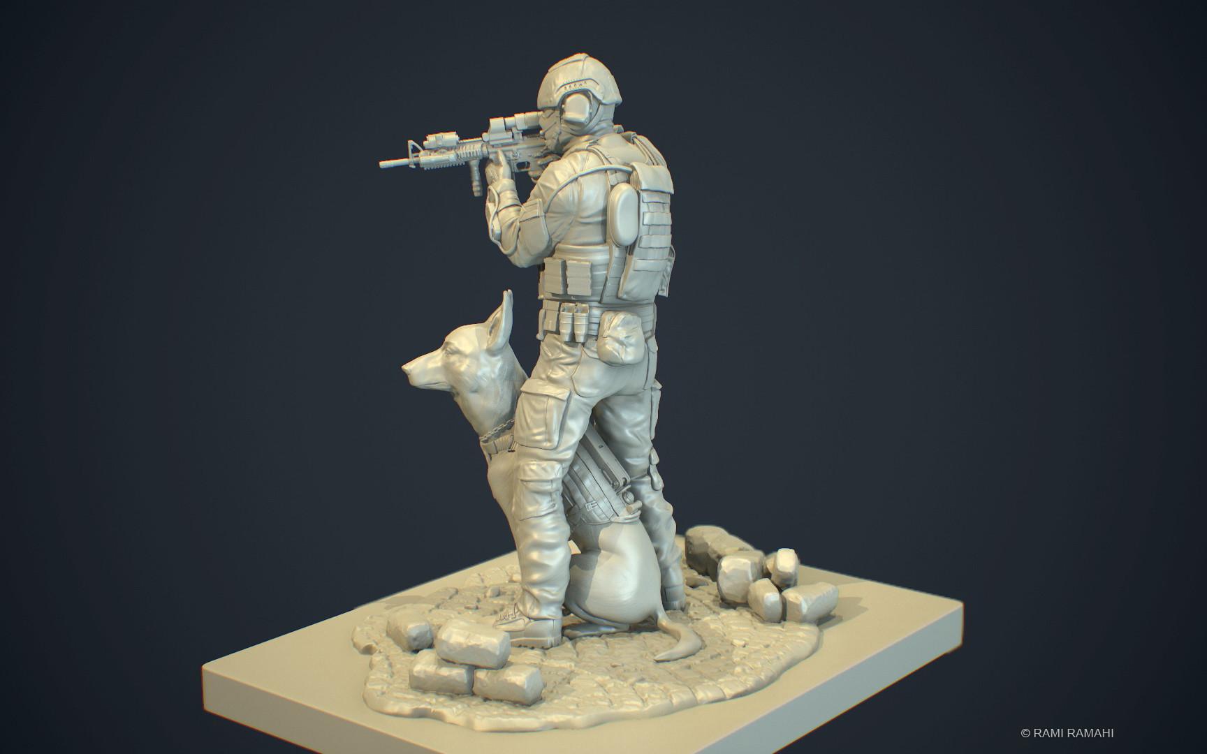 Rami ramahi soldier 3dprint 003