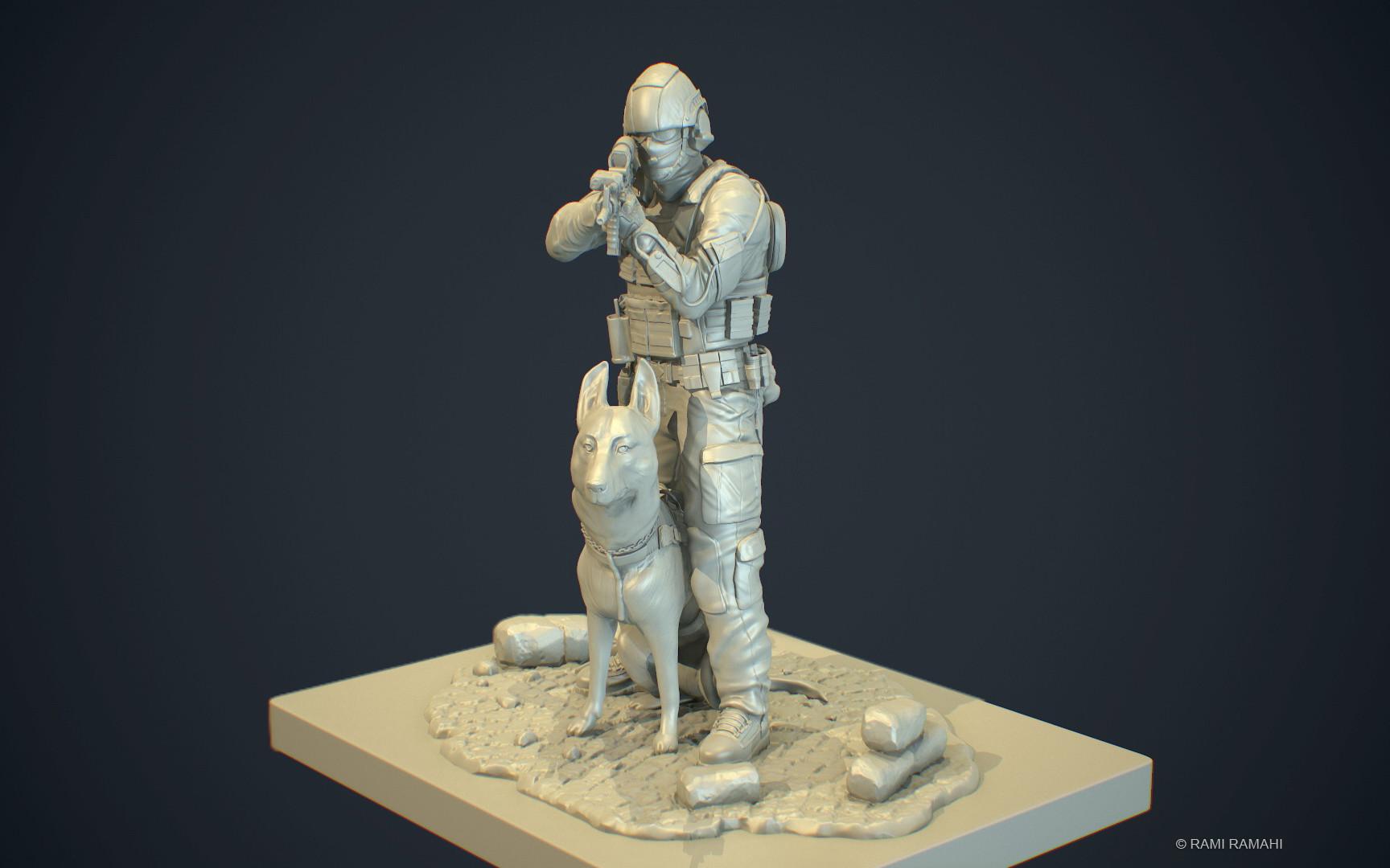 Rami ramahi soldier 3dprint 002