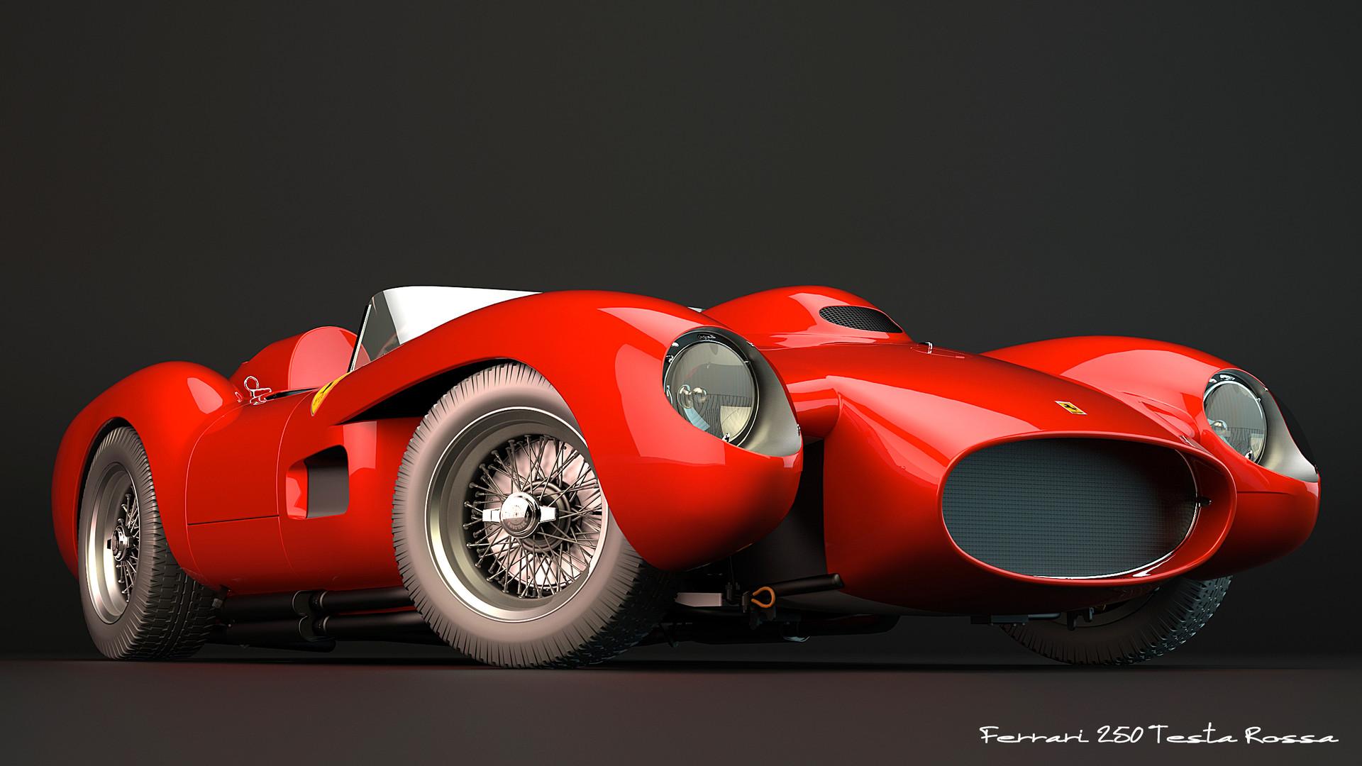 Artstation 1957 Ferrari 250 Testa Rossa Zoki Nanco Nancorocks Znr3d