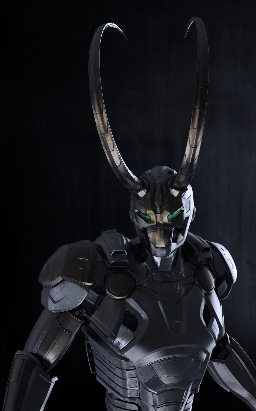 Loki redesign blockout