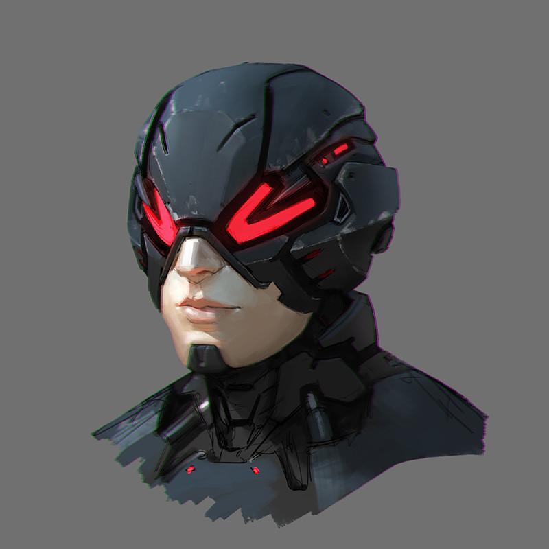 Head commission May 2017 Rafael-de-guzman-sci-fi-helmet-2