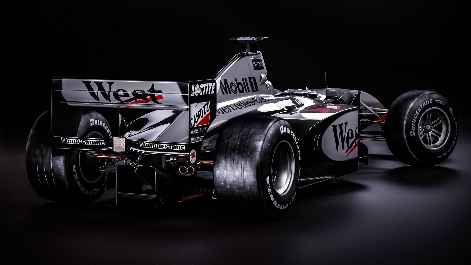 Zoki Nanco Nancorocks McLaren MP413 Mika Hakkinen