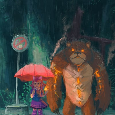 Gabriel ramos my neighbor tibbers by gaberamos