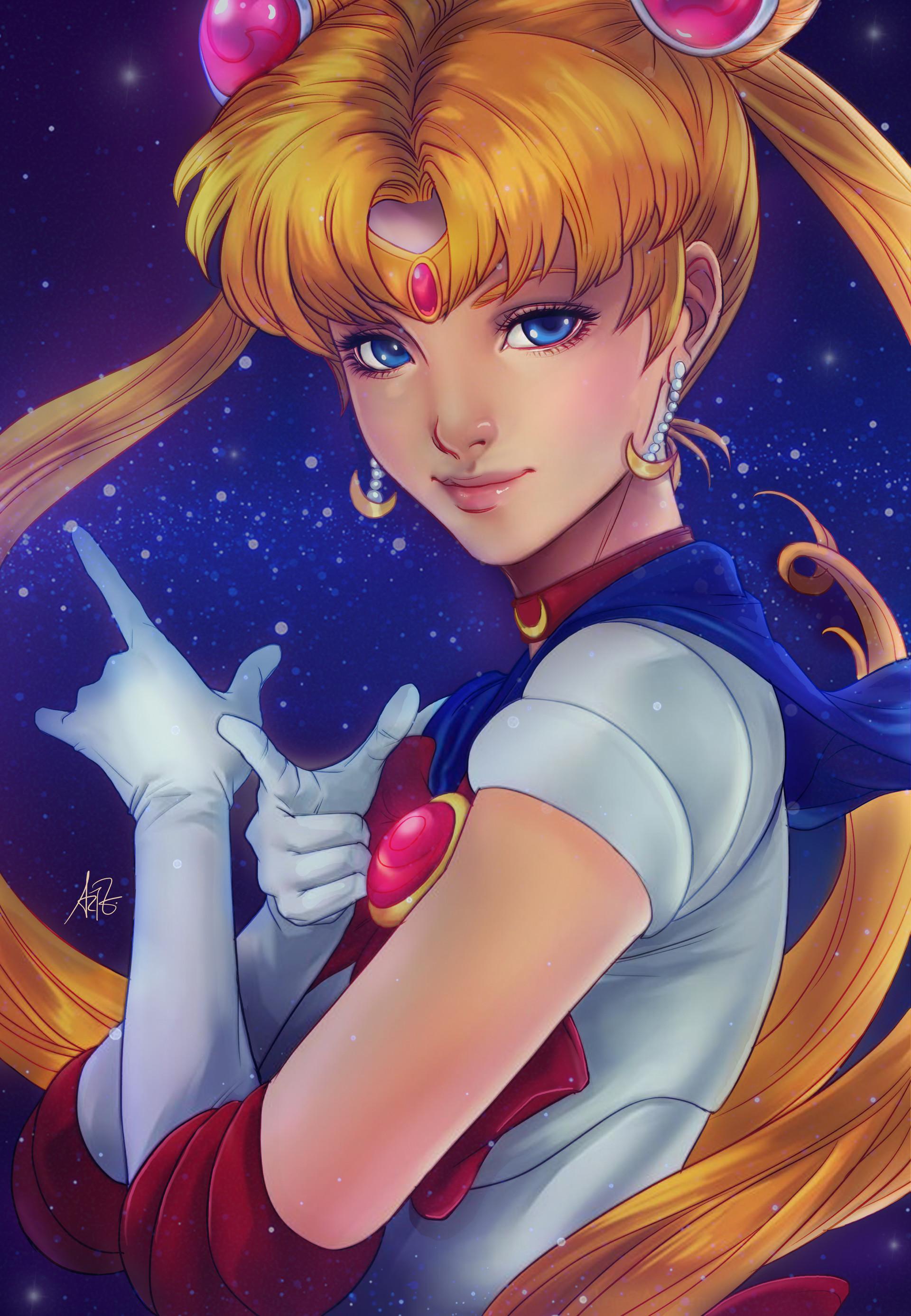 Caroline blineau sailor moon contest