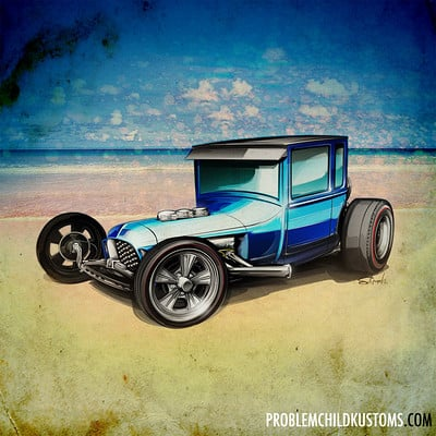 Brian Stupski Custom Car Renderings