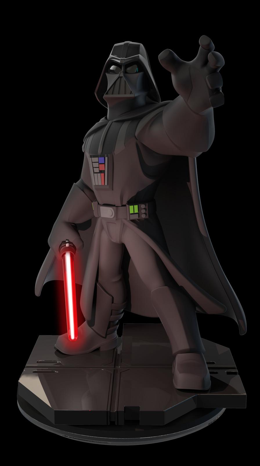 Disney Infinity Darth Vader Exclusive Lightup by BAllen