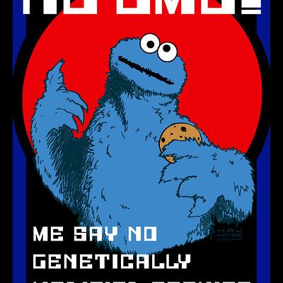 Hal hefner cookiemonster say no to gmo foods da